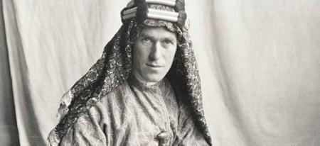 T.E. Lawrence en uniforme de l'armée britannique (1918)