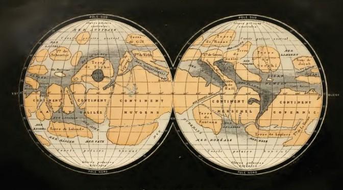 FLAMMARION_1884_Mars_map