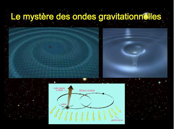 ondes gravitationnelles  par jean