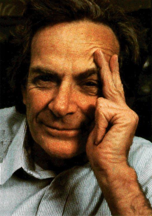 Richard Feynman (1918-1988), prix Nobel de physique 1965, auteur des diagrammes du même nom.