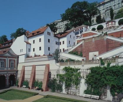 Le Palais Curtius, demeure de Tycho Brahe à Prague (vue moderne, photographie par J.P. Luminet)