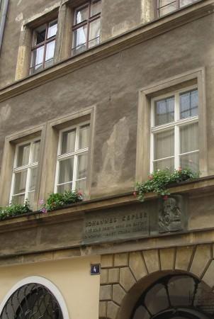 La modeste demeure de Kepler dans la basse-ville de Prague
