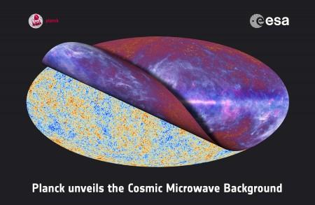 Rayonnement fossile et carte composite de tout le ciel par Planck