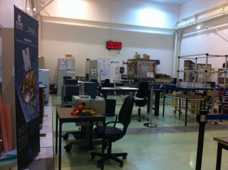 Micro-satellite d'environ un mètre-cube pour tester le principe d'équivalence