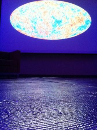 Ambiance zen pour Planck à la Reseacher Night, Hamilton