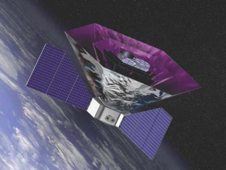 Vue d'artiste du satellite PIXIE Crédits : NASA