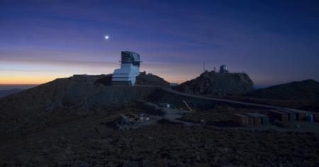 Le site du Vera Rubin Observatory en mai 2020